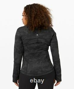 Nouvelles Femmes Lululemon Définir Veste Luon Taille 12