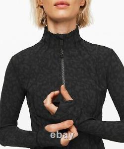 Nouvelles Femmes Lululemon Définir Veste Luxtreme Taille 10 & 12