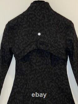 Nwot Current Season Lululemon Define Jacket Formation Camo Deep Coal Multi Sz 4