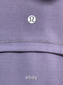 Nwt Lululemon Définir Veste À Capuchon Nulu Sz 8 Pplq Purple Quartz 50736