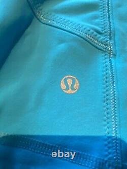 Nwt Lululemon Forme Veste Sz10 Full Zip, Logo-similaire Pour Définir Jkt