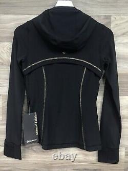 Nwt Lululemon Hooded Define Jacket Gold Sz 10, Black Special Edition