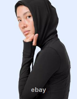 Nwt Lululemon Hooded Define Jacket Nulu Black Size 4 To 14 Livraison Gratuite