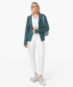 Nwt Lululemon Hooded Define Jacket Nulu Size4,6desert Sarcelle