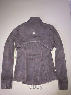Nwt Lululemon Women's Define Jacket Nulux In Ice Wash Violet Verben Taille Us 6