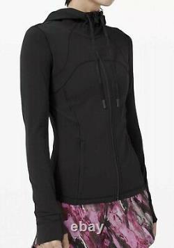Nwt Lululemon Womens Define Jacket Nulu Size 4 Noir