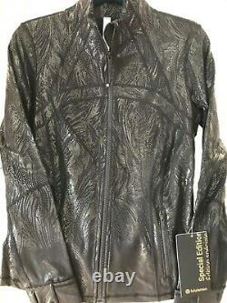 Nwt Special Edition Lululemon Define Jacket Shine Acclimatize Black Foilsize 10