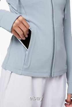 Sold Outnwt Hooded Define Jacket Nulu Chambray Taille 6