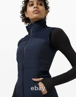 T.n.-o. Lululemon Down For It All Vest Online Only Taille 10/ Marine
