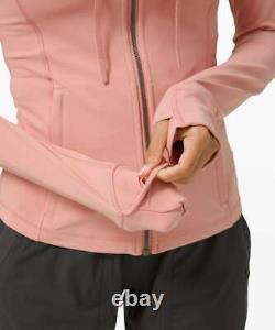 T.n.-o. Lululémon Femmes'define Hooded Jacket' Pink Pastel Hoodie 6