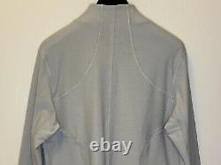 T.n.-o. Lululemon Forme Veste Gris Sz 12 Full Zip, Logo-similaire Pour Définir La Veste