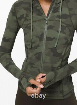 T.n.-o. Veste À Capuche À Capuchon Nulu Taille 2 Xs Camouflage